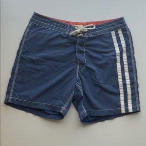 "J Crew Vintage Board Shorts - 34"" waist"